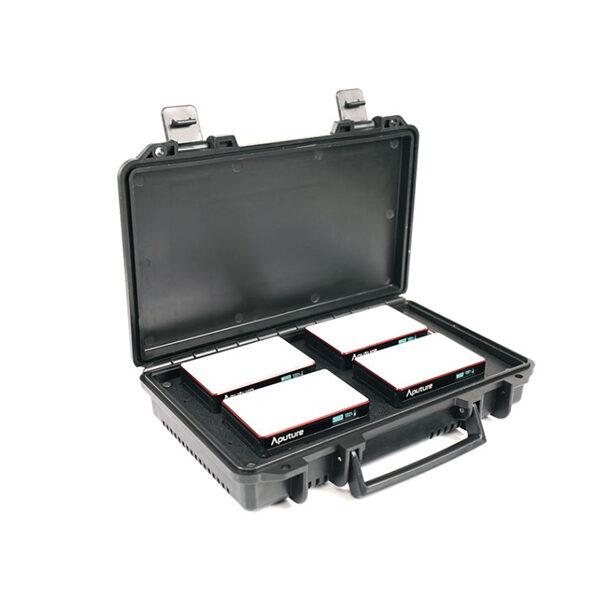 aputure, light, charging case, Rgb